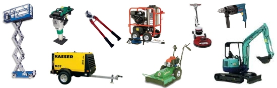 Tool rentals and equipment rentals in Amarillo TX and West Texas