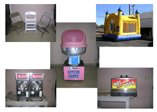 Party rentals and Event rentals in the Texas Panhandle and Oklahoma Panhandle