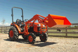 Where to find KUBOTA 30 HP TRACTOR in Amarillo
