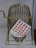 Where to find BINGO - CAGE, BALLS, 115 CARDS in Amarillo