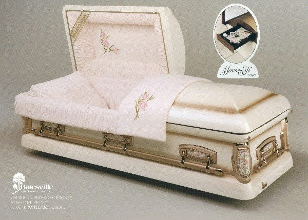 Where to find CASKET  - WHITE W GOLD TRIM in Amarillo