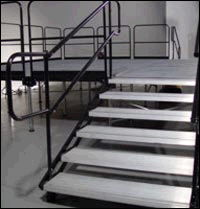 Where to find STAIRWAY w handrail  24  - 48  STAGING in Amarillo