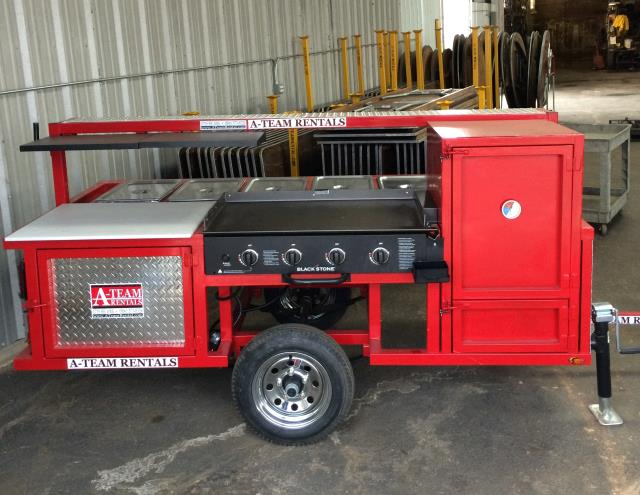 Where to find TRAILER   RED-GRILL  SMOKER  --sell Prop in Amarillo
